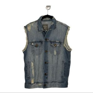 URBAN OUTFITTERS STANDARD CLOTH Flag Print Vest